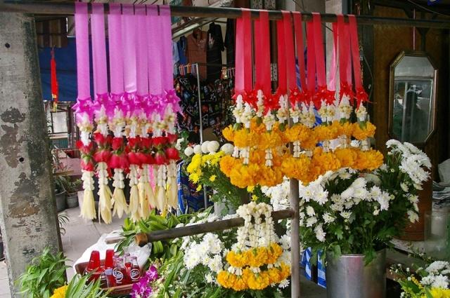 Thai altar flowers